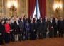 Prime Minister Designate Enrico Letta Presents New Italian Government
