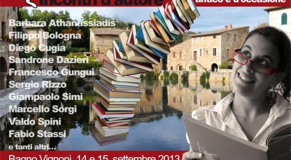 I Colori Del Libro Bagno Vignoni : Vivisiena incontri d autore e collezionisti nell incanto di