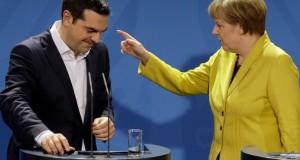 Merkel e Tspiras