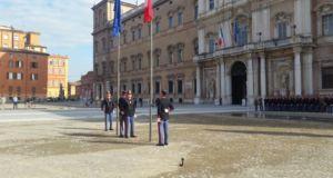 Alzabandiera Accademia Miliatare di Modena